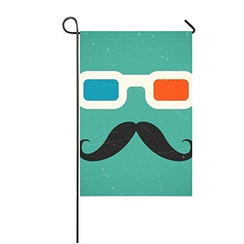 LiFei Business Personalized Hipster Mustache And 3D Cinema G