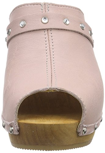Sanita Polly Plateau Sandal - Zuecos Mujer Rosa - Pink (Nude 33)