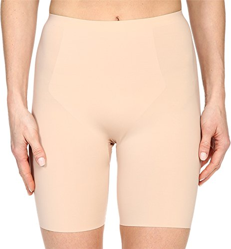 - SPANX Women's Thinstincts Mid-Thigh Short, Soft Nude, LG