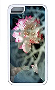 Cases For iPone 5C - Summer Unique Cool Personalized Design The Beautiful Lotus