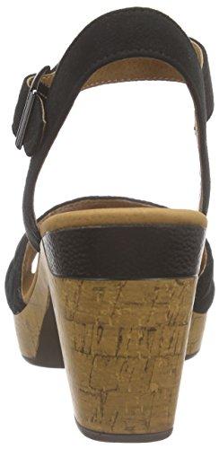 Jenny Riccione - Sandalias de tobillo Mujer Negro - negro (negro 07)