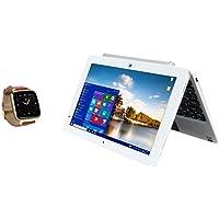 Bit CORE+ 10.1 Windows 10, 2 in 1 detachable PC - with Bonus Full Function Bit Smart Watch (W10046APS+S1CG)