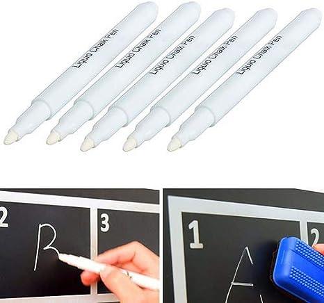 Bolígrafo de tiza líquida Newhashiqi, tinta líquida sin polvo ...