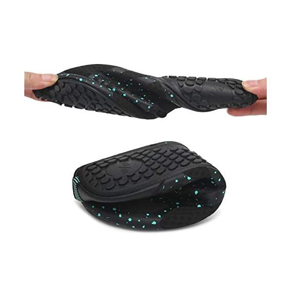 Joinfree - Scarpe da mare per uomo e donna, calzature ideali per la spiaggia, piscina, surf, nuoto e sport acquatici in… 6 spesavip