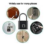 Simlug-Lucchetto-per-Impronte-digitali-Lucchetto-Intelligente-per-Impronte-digitali-Senza-Chiave-di-Sicurezza-USB-Senza-Chiave-per-Palestra-Bici-armadietto-Garage-armadietto-Valigia-da-Viaggio