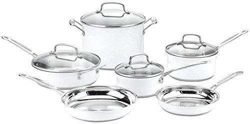 Cuisinart CSMW 10 Stainless 10 Piece Cookware