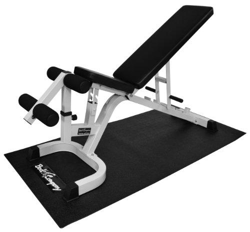 Pro Cardio-Matte / Bodenschutz / Bodenmatte / Trainingsmatte - Bodenschutz 180x90x0,4cm in Studio-Qualität (Stück)