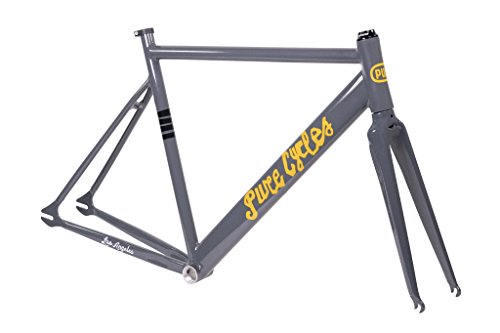 Pure Cycles Keirin Track Double-Butted 6061 Aluminum Bike Fr