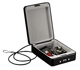 SentrySafe P005C Compact Safe, 0.05 Cubic Feet, Black