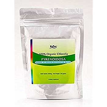 Amazon Com Biopure Chlorella Vulgaris 200 Mg 1000