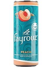 مشروب شعير خالي من الكحول بنكهة الخوخ من فيروز - 250 مل