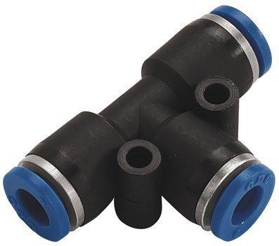 Equal Tee Push in Fitting - 4mm (b95) Pneumax