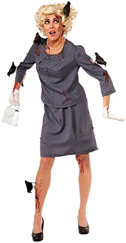 Bird Women's Costumes (Forum Novelties Women's Bird Attack Costume, Gray-Blue,)