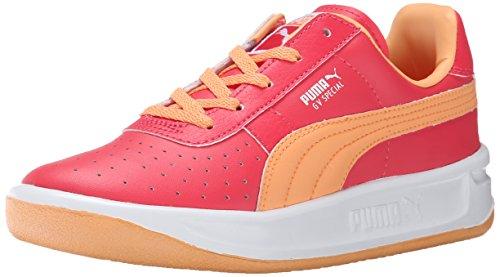 PUMA GV Special JR Classic Sneaker (Little Kid/Big Kid), Geranium/Peach Cobbler, 3 M US Little Kid