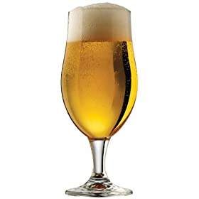 Libbey Craft Brews 16.6-Ounce Clear Belgian Ale Glass Set, 4-Piece