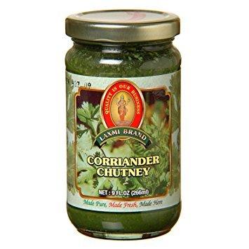 Laxmi All-Natural Gourmet Coriander Chutney - 9 oz