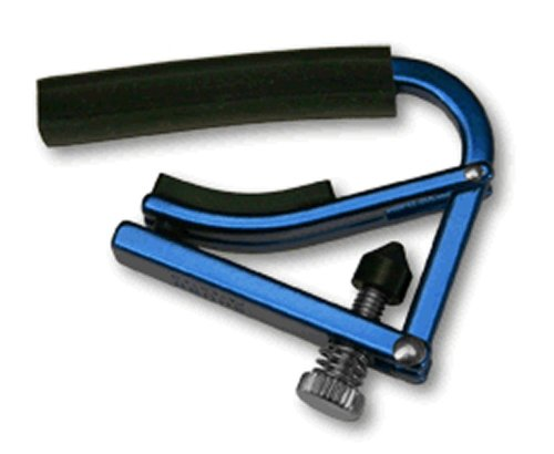 Shubb Capos L1BLU Steel String Guitar Capo - Blue (Guitar Capo Shubb)