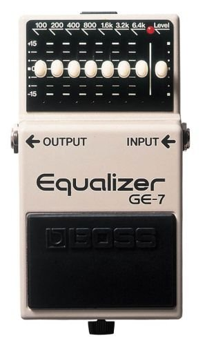 Guitar Pedal Order - Boss GE-7 Graphic Equalizer Pedal