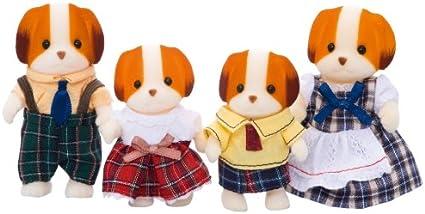 Sylvanian Families CHIFFON DOG BABY KEY CHAIN Epoch Japan Calico Critters