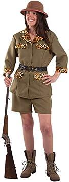 DISBACANAL Disfraz Exploradora Safari Mujer - -, M: Amazon.es ...