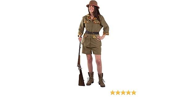 DISBACANAL Disfraz Exploradora Safari Mujer - -, L: Amazon.es ...