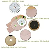 XIHAA Disposable Colostomy Pouch - Ostomy Bags with Closure for Colostomy Ileostomy Stoma Care, Cut-to-Fit, One Piece System Cut to Fit 15-45MM