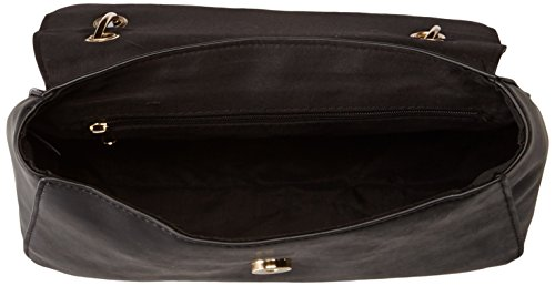 Jeans Black amp; Shirt with Shoulder T Bag Detail Chain Flap qE7xRwOp