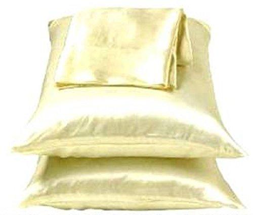 Amazon Com Dreamkingdom King Solid Silky Satin Pillow