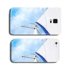 Sail and mast with sky in the background cell phone cover case Samsung S6