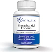 Phosphatidylcholine PC 60 Softgels for Liver and Brain Support