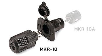 Minnkota Mkr-18 12v Plug & Receptacle 2