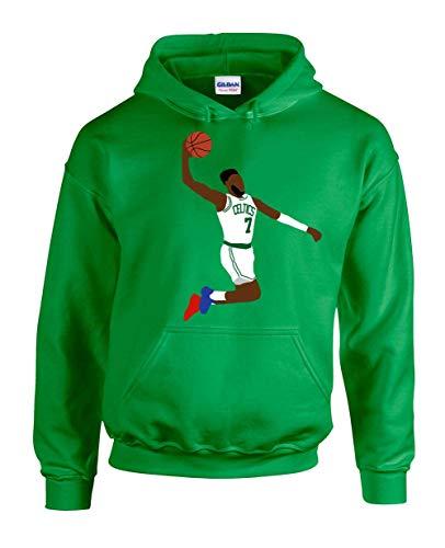 Green Boston Jaylen Pic The Dunk Hooded Sweatshirt Adult (Green Gordon Pic)