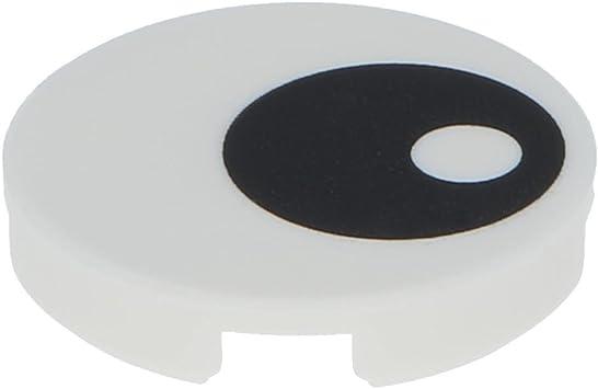 14769pb004 Lego 2 x Augen Fliese rund weiß Tile Eye White NEU // NEW