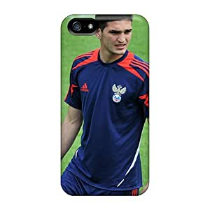 Tough Iphone QPZnBhz7188NVHVO Case Cover/ Case For Iphone 5/5s(magomed Ozdoev Lokomotiv Midfielder In The Form Of The National Team) by Maris's Diary