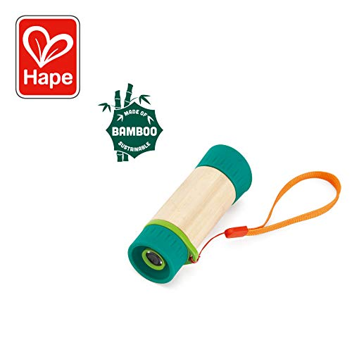 Hape Bamboo Collection - Hape Adjustable Telescope| Bamboo Spy Gear for Kids with 8X Magnification
