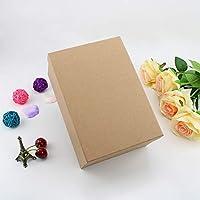 VEESUN Cajas de regalo grandes para regalos, 3 juegos de cajas de presentación de cartón con tapas, cumpleaños de navidad Cajas de regalo para mujeres ...