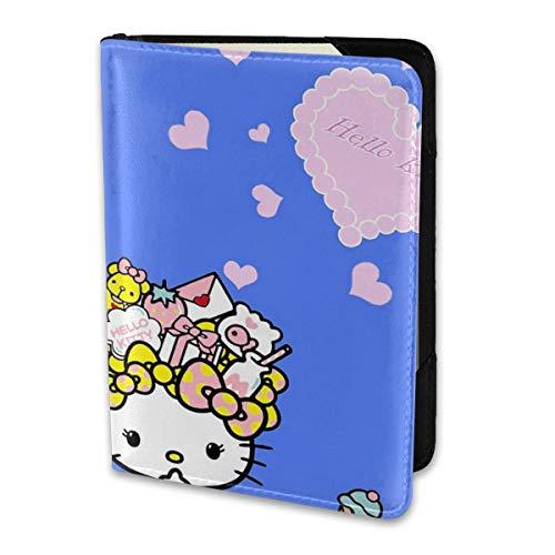 Passport Holder Cover Case Summer Hello Kitty ()