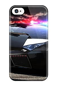 ryan kerrigan's Shop Hot 6863639K49381779 Hot Lamborghini Reventon Hot Pursuit First Grade Tpu Phone Case For Iphone 4/4s Case Cover