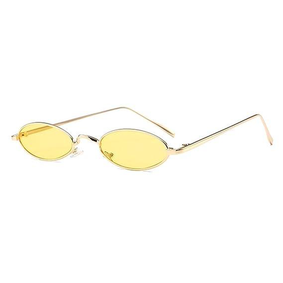 Gafas de sol pequeñas ovales para hombres Mujeres Gafas de ...