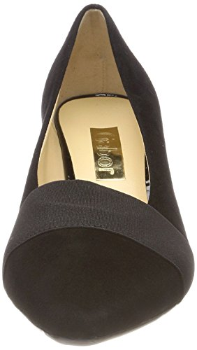 Gabor Pumps Basic Black Schwarz Closed Women's Toe zwrafzq