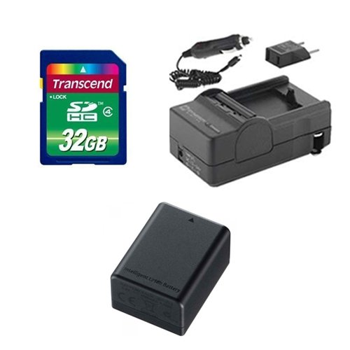 - Canon Legria HF R56 Camcorder Accessory Kit includes: SDBP718 Battery, SDM-1556 Charger, SD32GB Memory Card