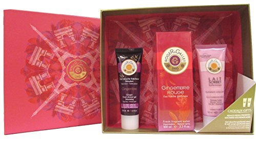Roger & Gallet Gingembre Rouge Women 3 Piece Gift Set