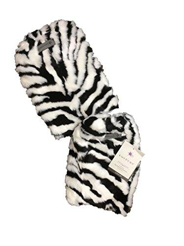 Zebra Leg Warmers - 1