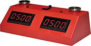 Red Zmart Chess Clock with Red Bag