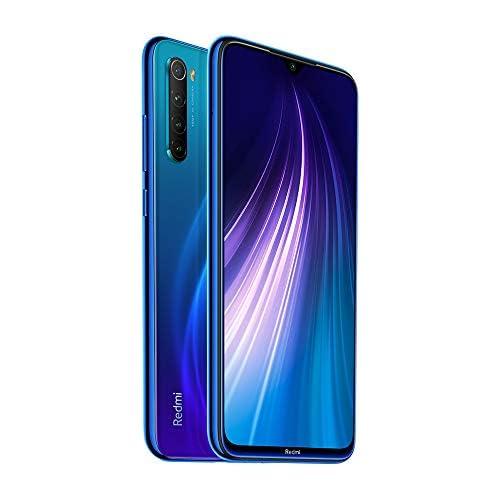 chollos oferta descuentos barato Xiaomi Redmi Note 8 Smartphone de 6 3 FHD Snapdragon 665 Octa Core 4 GB RAM 128 GB ROM cámara Trasera cuádruple de 48 MP batería de 4000 mAh Neptune Blue International Version