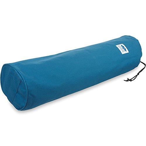 CalmingBreath natürlicher, umweltfreundlicher Yogamattenbeutel - passt bei JEDER Yogamatte Kornblumenblau