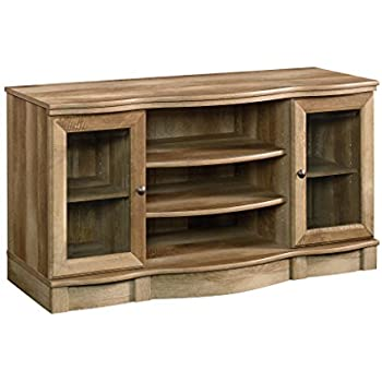Amazon Com Crossmill Weathered Collection Tv Stand For Tvs Up To 65 Quot Lintel Oak