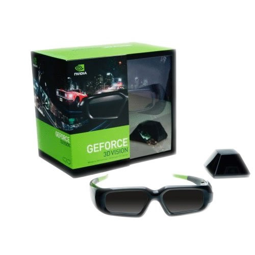 Price comparison product image nVidia GeForce Wireless 3D Stereo Glasses Kit with Emitter