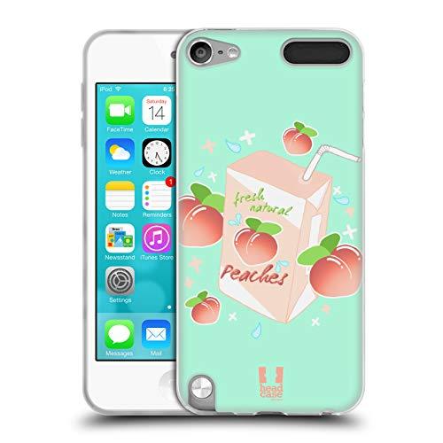 - Head Case Designs Milky Peach Peaches Soft Gel Case for Apple iPod Touch 5G 5th Gen