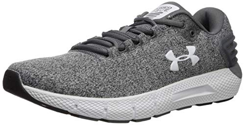 Under Armour Men's Charged Rogue Twist Running Shoe, Graphite (100)/Black, 9